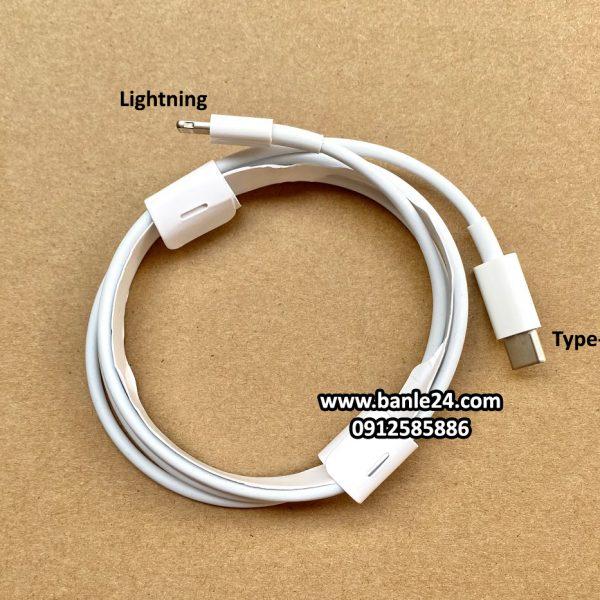 Cáp sạc Type-C to Lightning độ dài 1m dành cho Iphone, Ipad (Freeship) - Banle24