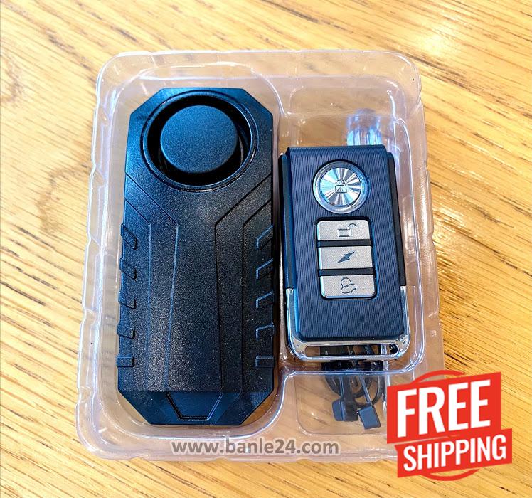 Thiết bị chống dắt trộm xe máy, xe đạp, chống bẻ gương ô tô Vibell-BDR01 - Banle24