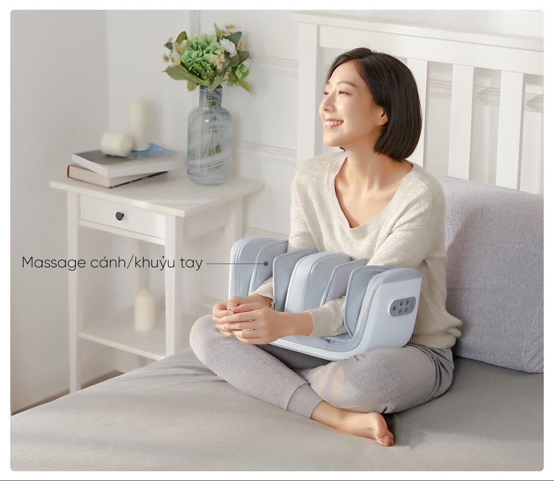 Máy massage đầu gối, massage chân đa năng Xiaomi Momoda SX383 (freeship) - MiHN