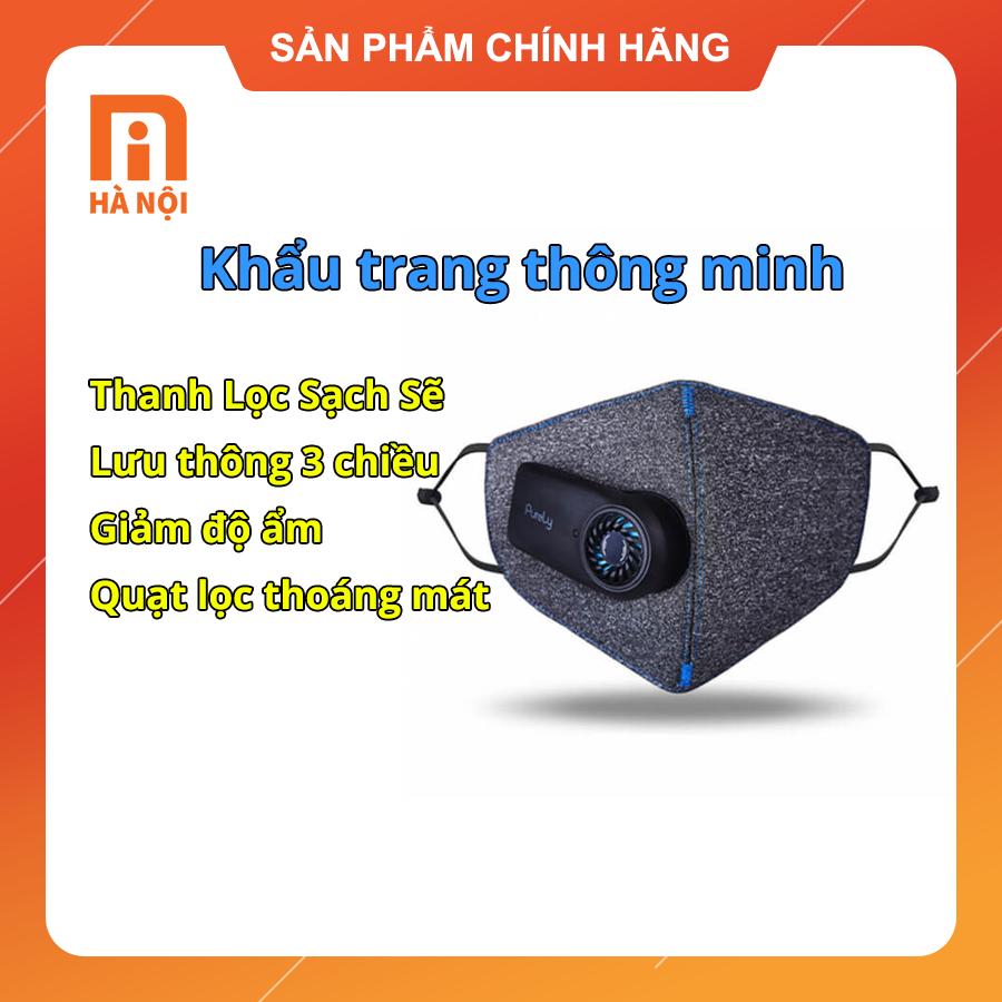 Khẩu trang chống bụi thông minh Xiaomi Purely (freeship) - MI Hà Nội