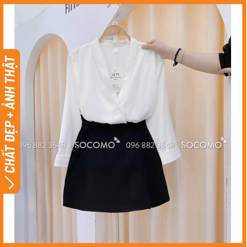 Quần váy chữ A Nữ Socomo - Hàng Loại 1, Chất Đẹp - Giá tốt - 100% Ảnh Socomo Tự Chụp (freeship)