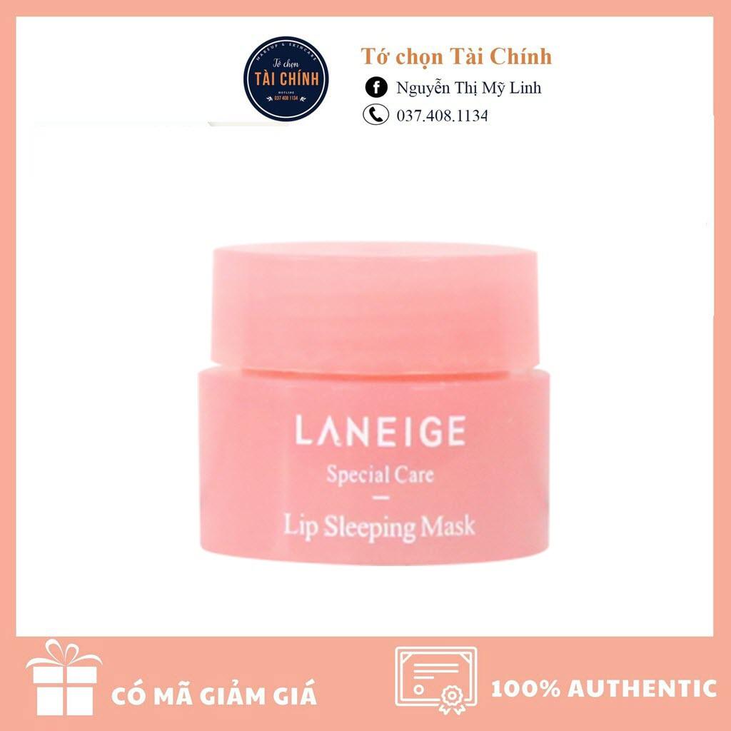 Mặt nạ ngủ dưỡng môi Laneige mini 3g (Freeship) - TCTC